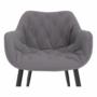 Kép 5/18 - FEDRIS Dizájnos fotel,  szürke anyag