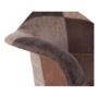 Kép 13/17 - TERST Dizájnos fotel,  patchwork/bükk