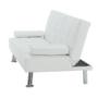 Kép 14/15 - GOLDIA kinyitható kanapé,  bézs textilbőr [NEW]