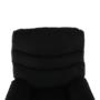 Kép 17/32 - LAMBERT Masszázsfotel állítható funkcióval,  fekete anyag