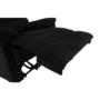 Kép 22/32 - LAMBERT Masszázsfotel állítható funkcióval,  fekete anyag