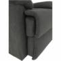 Kép 13/35 - LAMBERT Masszázs állítható pihenőfotel,  szürke bársony anyag
