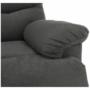 Kép 14/35 - LAMBERT Masszázs állítható pihenőfotel,  szürke bársony anyag