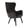 Kép 3/23 - TENAL Dizájnos fotel,   szürkésbarna TAUPE Velvet anyag