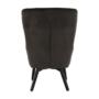 Kép 5/23 - TENAL Dizájnos fotel,   szürkésbarna TAUPE Velvet anyag