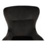 Kép 12/23 - TENAL Dizájnos fotel,   szürkésbarna TAUPE Velvet anyag