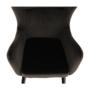 Kép 13/23 - TENAL Dizájnos fotel,   szürkésbarna TAUPE Velvet anyag