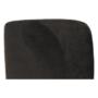Kép 15/23 - TENAL Dizájnos fotel,   szürkésbarna TAUPE Velvet anyag