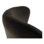 Kép 17/23 - TENAL Dizájnos fotel,   szürkésbarna TAUPE Velvet anyag