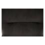 Kép 22/23 - TENAL Dizájnos fotel,   szürkésbarna TAUPE Velvet anyag