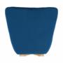 Kép 14/19 - FODIL Dizájnos fotel,  kék Velvet anyag