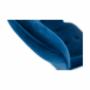 Kép 18/19 - FODIL Dizájnos fotel,  kék Velvet anyag