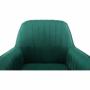 Kép 13/20 - TARAM Hintaszék,  zöld Velvet anyag