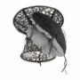 Kép 8/35 - TRISS Forgófotel párnával,  szürke/fekete/világosszürke