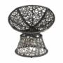Kép 10/35 - TRISS Forgófotel párnával,  szürke/fekete/világosszürke