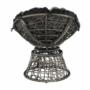 Kép 11/35 - TRISS Forgófotel párnával,  szürke/fekete/világosszürke