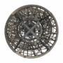 Kép 17/35 - TRISS Forgófotel párnával,  szürke/fekete/világosszürke