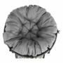 Kép 19/35 - TRISS Forgófotel párnával,  szürke/fekete/világosszürke