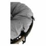 Kép 21/35 - TRISS Forgófotel párnával,  szürke/fekete/világosszürke