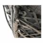 Kép 23/35 - TRISS Forgófotel párnával,  szürke/fekete/világosszürke