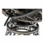 Kép 26/35 - TRISS Forgófotel párnával,  szürke/fekete/világosszürke