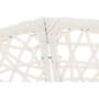 Kép 5/38 - TRISS Forgófotel párnával,  fehér/petróleumkék