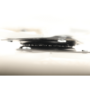 Kép 17/38 - TRISS Forgófotel párnával,  fehér/petróleumkék