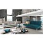 Kép 2/18 - ALIDA kanapé széthúzhatós, smaragd/tölgy