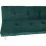 Kép 11/18 - ALIDA kanapé széthúzhatós, smaragd/tölgy