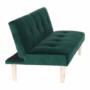 Kép 14/18 - ALIDA kanapé széthúzhatós, smaragd/tölgy
