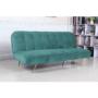 Kép 4/22 - RODANA széthúzhatós kanapé,  petróleum/arany