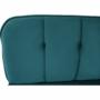 Kép 12/22 - RODANA Széthúzhatós kanapé,  petróleum Velvet anyag/gold króm-arany