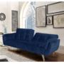 Kép 3/23 - FILEMA Széthúzhatós kanapé,  királykék/tölgy