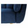 Kép 20/23 - FILEMA Széthúzhatós kanapé,  királykék/tölgy