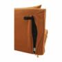 Kép 23/27 - MILIN Fotel ágyfunkcióval,  mustár Velvet anyag/gold króm arany