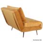 Kép 3/27 - MILIN Fotel ágyfunkcióval,  zöld Velvet anyag/gold króm arany