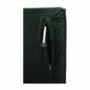 Kép 20/27 - MILIN Fotel ágyfunkcióval,  zöld Velvet anyag/gold króm arany