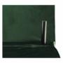 Kép 21/27 - MILIN Fotel ágyfunkcióval,  zöld Velvet anyag/gold króm arany