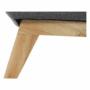 Kép 5/16 - EVARIST Széthúzhatós kanapé,  szürke/tölgy fa
