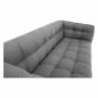 Kép 8/16 - EVARIST Széthúzhatós kanapé,  szürke/tölgy fa