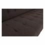 Kép 9/23 - NIELIS Ülőgarnitúra,  barna/fekete