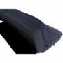 Kép 17/21 - NAIRA Kanapé ágyfunkcióval,  szürkéskék Velvet anyag