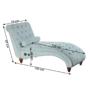 Kép 7/23 - GREGOR Bluetoothos relax fotel,  világosszürke/sötét dió