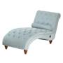 Kép 8/23 - GREGOR Bluetoothos relax fotel,  világosszürke/sötét dió