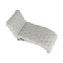 Kép 9/23 - GREGOR Bluetoothos relax fotel,  világosszürke/sötét dió