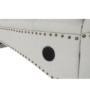 Kép 11/23 - GREGOR Bluetoothos relax fotel,  világosszürke/sötét dió