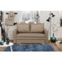 Kép 3/4 - DOTY széthúzhatós kanapé,  világosbarna melír