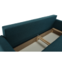 Kép 21/25 - DOREL Kanapé ágyfunkcióval,  petróleum