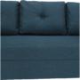 Kép 10/23 - DOREL Kanapé ágyfunkcióval,  kék