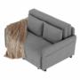 Kép 5/30 - NIKARA kanapé széthúzhatós, világosszürke